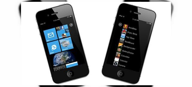 Windows Phone 7 rulează pe iPhone? Deocamdată doar sub formă de interfață... (Video)