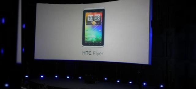 Rememorăm MWC 2011 cu anunțul oficial al tabletei HTC Flyer (Video)
