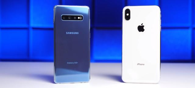 Test de performanţă: Samsung Galaxy S10+ versus iPhone XS Max; Rezultatul surprinde spre final (Video)