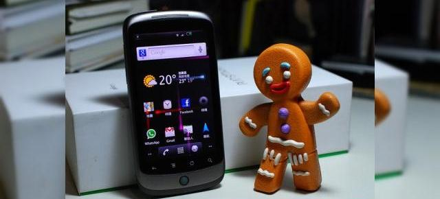 Android 2.3 Gingerbread acum oficial pe Nexus One și prin HTC