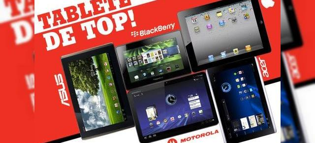 eMAG și pleiada de 10 tablete: BlackBerry PlayBook, Motorola Xoom, Asus Eee Pad Transformer...