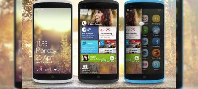 Nokia cu Windows Phone 7 customizat și iconuri de Symbian Anna Într-un design finlandez unic
