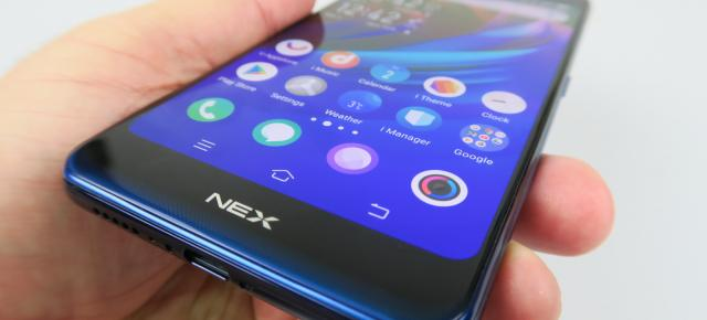 Vivo NEX Dual Display: Baterie de top 15, excelentă mai ales pentru playback video