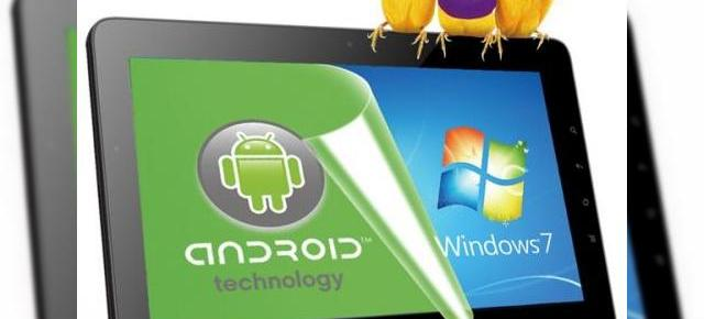 Tableta cu Windows 7 Pro și Android 2.2: ViewSonic ViewPad 10Pro, un model dual boot confirmat oficial
