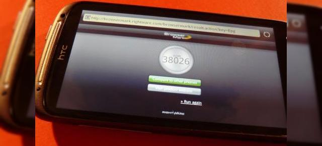 HTC Sensation supus la teste - iată rezultatele benchmark-urilor sale (Video)