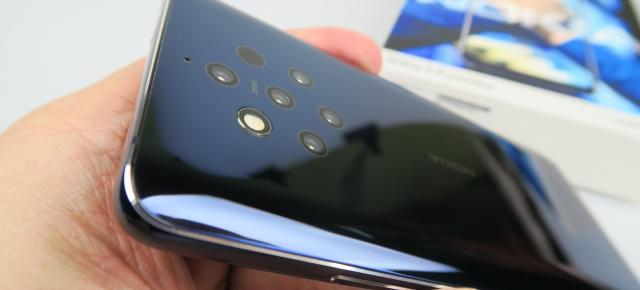 Nokia 9 Pureview: Baterie cel mult OK, mai degrabă bună la playback video