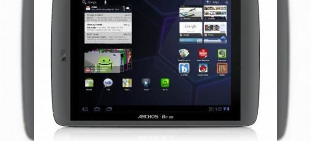 Archos 80 G9 și 101 G9 - tablete Android ieftine
