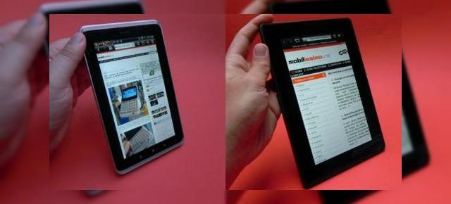HTC Flyer vs BlackBerry PlayBook - care tabletă este mai completă?
