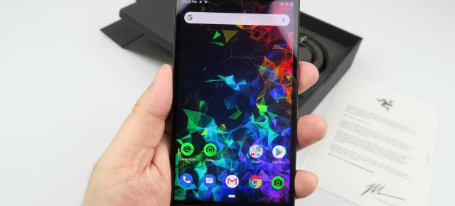 Razer Phone 2: Conectivitate high-end, viteze de Formula 1
