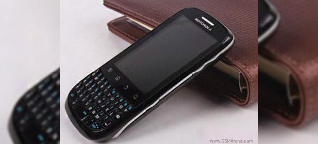 Motorola XT316, un nou telefon Android cu tastatură QWERTY și preț accesibil 24156f7ab6