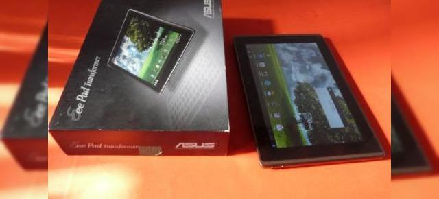 Unboxing 3D! ASUS Eee Pad Transformer scos din cutie și filmat cu LG Optimus 3D (Video)