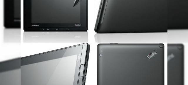 Lenovo ThinkPad Tablet - date oficiale
