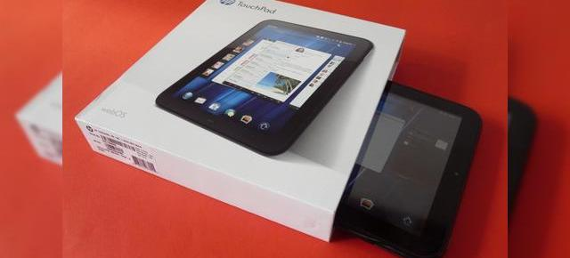 HP TouchPad scos din cutie la Mobilissimo.ro - o tabletă glossy cu webOS (Video)