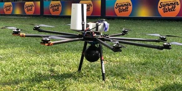 Orange aduce tehnologia 5G şi la Summer Well 2019: video streaming 4K din dronă transmis prin 5G