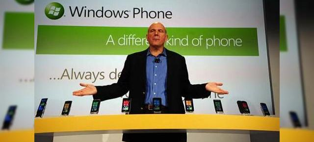 Steve Ballmer și declarațiile sale optimiste cu privire la Windows Phone 7