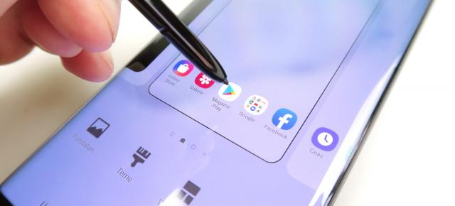 Samsung Galaxy Note 10+: OS, UI, aplicaţii axate pe editare de conţinut video, notiţe, business