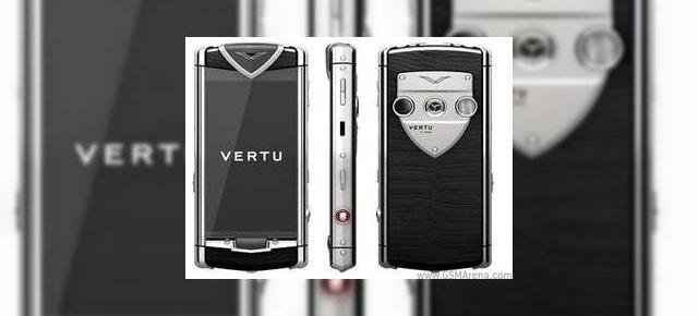 Primul Vertu cu touchscreen este Constellation T, confirmat neoficial