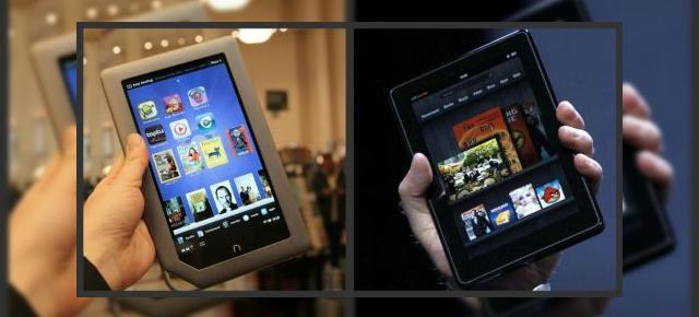 Nook tablet vs Kindle Fire - tablete cu potențial