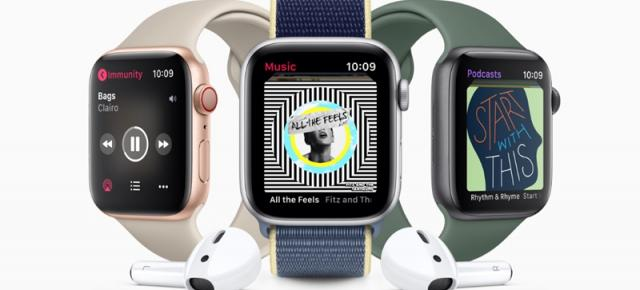 Preț și disponibilitate Apple Watch Series 5 Cellular (LTE) în România