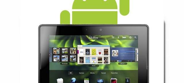 Aplicațiile Android portate pe tableta PlayBook nu vor include reclame