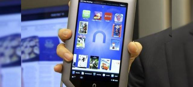 Nook Tablet de 8 GB vrea să detroneze Kindle Fire