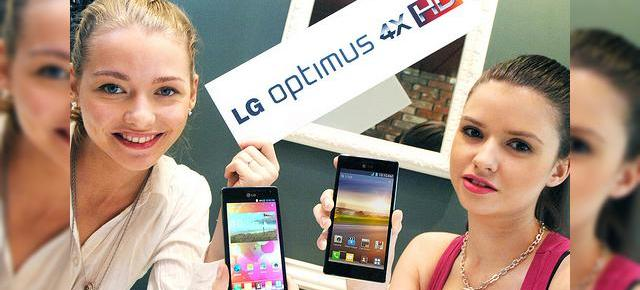 Primele telefoane quad-core: LG Optimus 4X HD, Huawei Ascend D quad, HTC One X