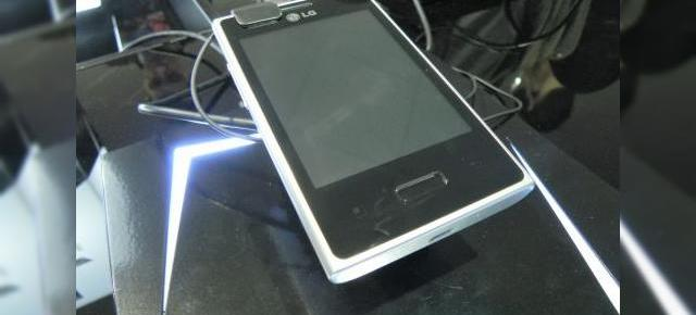 MWC 2012: LG Optimus L3 preview video - telefonul low end al gamei L arată bine (Video)