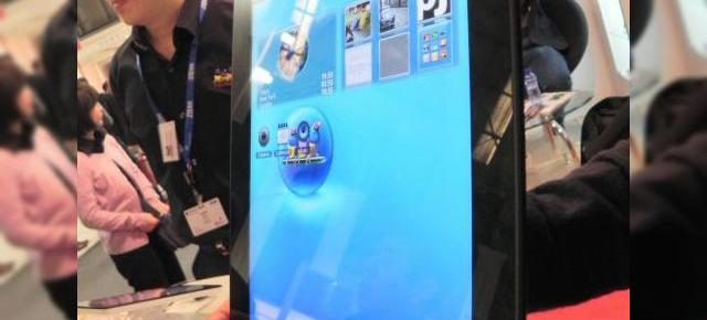MWC 2012: ViewSonic ViewPad E100 preview - tableta Android 4.0 cu interfață 3D arătoasă (Video)