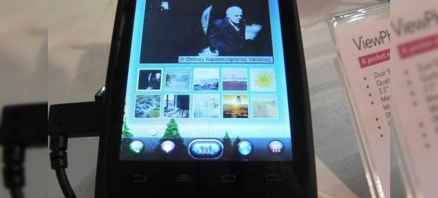 MWC 2012: ViewSonic ViewPhone 3 hands on - telefon entry level dual SIM cu dotări modeste (Video)