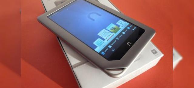 Nook Tablet unboxing la Mobilissimo.ro - tableta axată pe e-book-uri scoasă din cutie (Video)