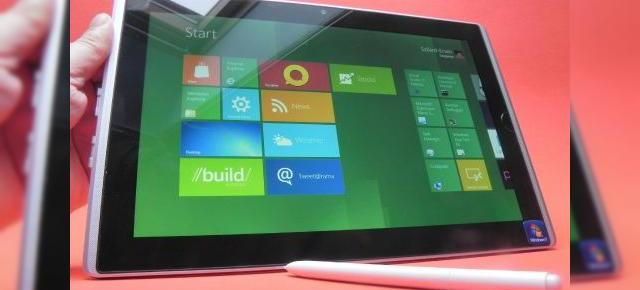 Tabletele ARM cu Windows 8 vor avea parte de boot blocată