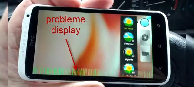 HTC One X are probleme cu display-ul (video)