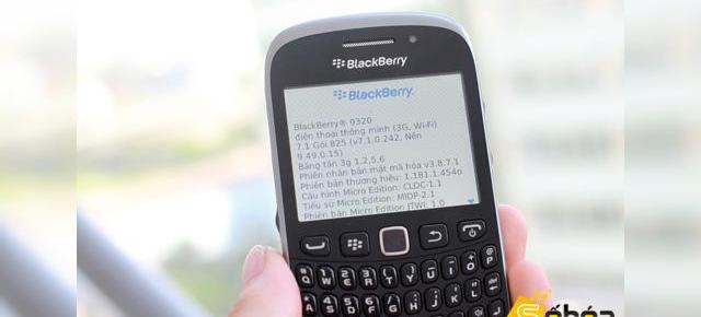 BlackBerry Curve 9320 apare Într-o sesiune hands-on