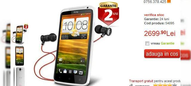 HTC One X Beats Audio Special Edition disponibil prin Quickmobile!