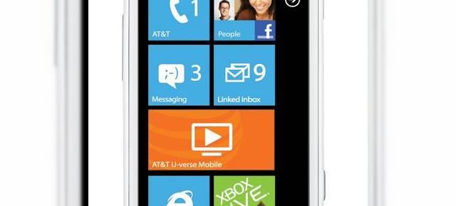 Samsung Focus 2 - telefon cu Windows Phone și conectivitate LTE