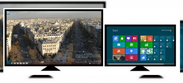 Windows 8 Release Preview aduce o evoluție a experienței multi-monitor