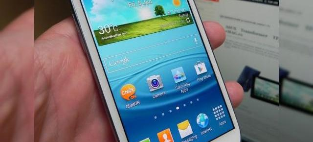 Samsung Galaxy S III primește primul update de software via OTA