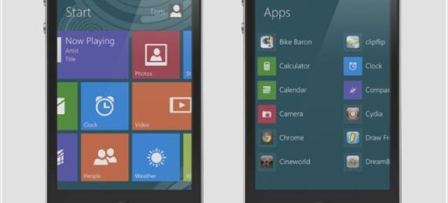 Metroon Theme pentru DreamBoard aduce interfața Windows 8 pe iPhone