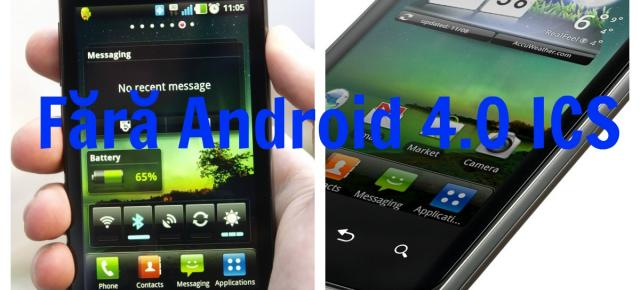 LG Optimus Black și Optimus 2X nu vor primi Android 4.0 Ice Cream Sandwich