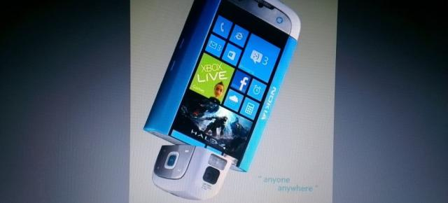 Nokia Lumia X, telefon Windows Phone 8 cu camera rotativă; Fals sau real?