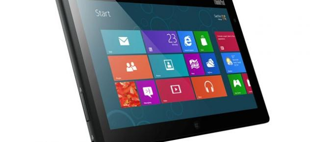 Lenovo anunță tableta ThinkPad Tablet 2 cu Windows 8, CPU Intel