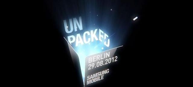 IFA Berlin 2012: Samsung Mobile Unpacked va fi transmis În regim live video
