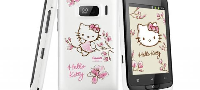 Alcatel One Touch 918 Hello Kitty În oferta Orange