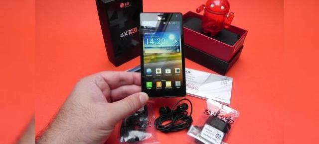 LG Optimus 4X HD unboxing - un telefon elegant, quad core cu câteva funcții interesante (Video)