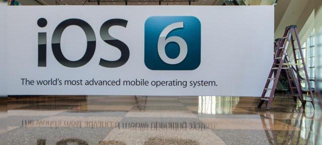 iOS 6 Începe a fi disponibil pe device-urile Apple compatibile