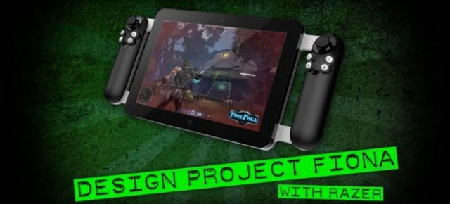 O nouă tableta de gaming e gata de debut! Project Fiona, tableta Razer cu Windows 8 si CPU Core i7! (Video)