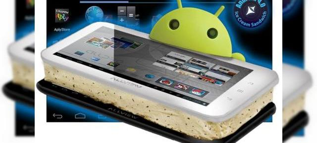 Android 4.0.4 Ice Cream Sandwich disponibil pe tabletele Allview AllDro Speed și Speed i