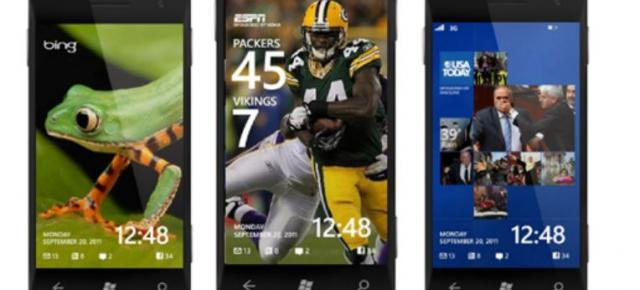 Windows Phone 8 primește wallpaper-uri live: ESPN, USA Today și Bing