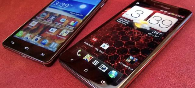 HTC Droid DNA versus LG Optimus G: specificații aproape identice, ecrane diferite (Video)