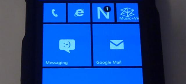 Windows Phone 7 și 8 primesc zona de notificări homebrew; Iată un demo (Video)